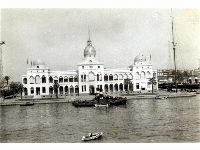 Suez Canal Authority Building, Port Said harbour, undated Possibly a commercially produced photograph
