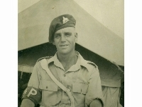 Royal Lincolnshire Regiment unknown 'H' - Middle East, 1947-50 Wearing Regimental Police armband
