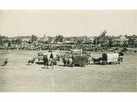 Wild West show - possibly Moascar Garrison, Egypt, 1948-50.