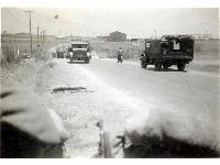 Road block - Tel-Letwinsky, Palestine, undated (1)