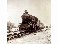 Palestine Railways (ex-War Department) Stanier 8F 2-8-0 at unknown location, undated.