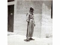 Arab Legion (al-Jaysh al-Arabi) soldier - Trans-Jordan, undated.