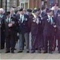 Veterans line up to take the Salute