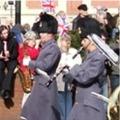 The Minden Band, 2RA Homecoming Parade, Lincoln, 2009.