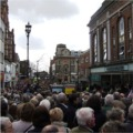 Thousands of people lined the streets of Lincoln to welcome the 2nd Battalion home.