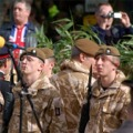 2nd Battalion (Poachers), The Royal Anglian Regiment, Freedom of Lincoln, 2009. Photographer: Terry Marker.