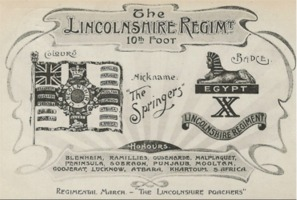 Regimental Postcard