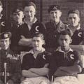 C Coy. Football Team, 1954/55