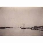 Boats waiting on Suez