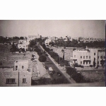 View from David Building, Jersualem. November 1946