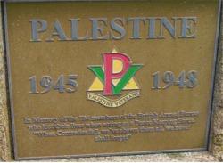 Palestine Veteran's Memorial, The National Arboretum