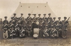 Band of the 4th Lincoln Battalion, 1925