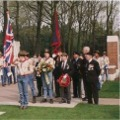 Laying wreaths at Oosterbeek Cemetary, with Arnhem Scouts