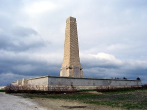The Helles Memorial, Turkey.