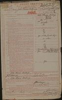 Army Form e.504: John Thomas Dickings