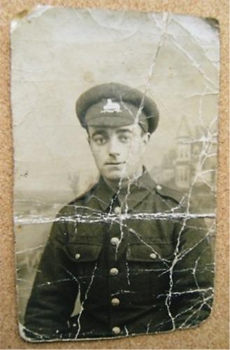 Pte John Edward Lascelles, 1915 (aged 19)