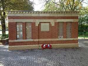 Lincolnshire Regiment Memorial
