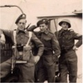 L/Cpl Norman Taylor, Cpl Don Millns and Sgt Bruce Leivers.  'B' Coy, 2nd Battalion