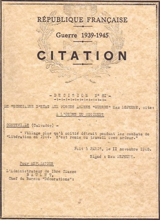 Conteville Citation