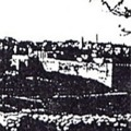 Picture from Christmas Card, Jerusalem, 1947