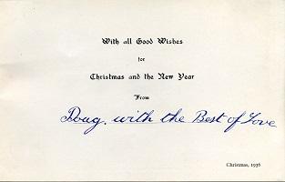 Christmas Card 1936