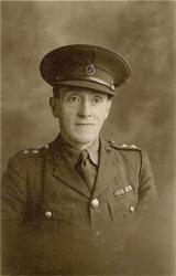 Harry Tarlington Walker in National Defence Company Uniform