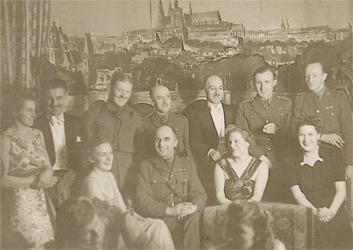 Harry Tarlington Walker (standing - back row)