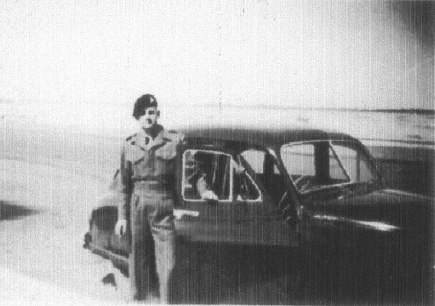 Ernest 'Spud' Taylor.  Suez Canal 1951.