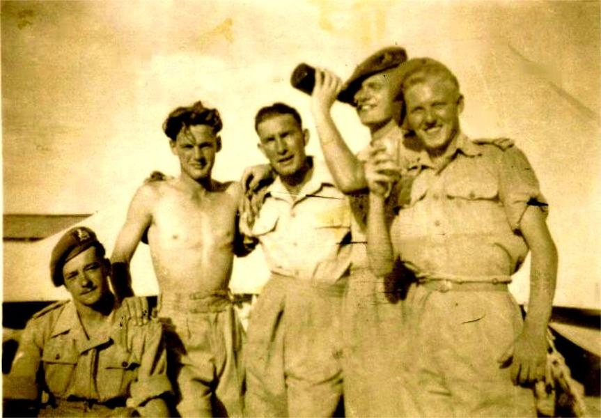 C.coy. Egypt 1948.