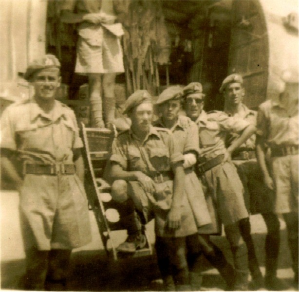 C.Coy. 1st Bn. Aqaba 1949.