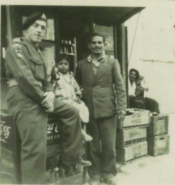 Ken Garbett. Aqaba. 1st Bn. D.Coy.