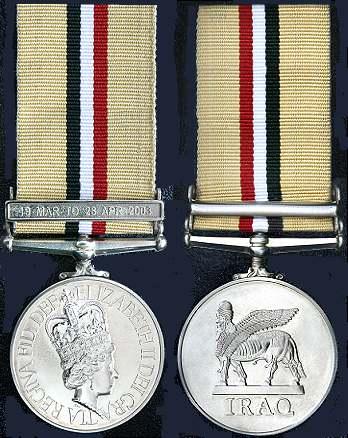 Iraq Telic Campaign Medal
