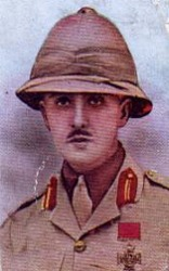 Percy Howard Hansen VC, The Lincolnshire Regiment