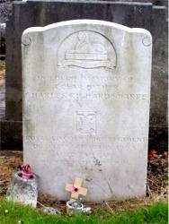 Charles Sharpe's headstone