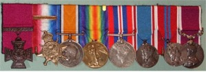 Sharpe's Medals.