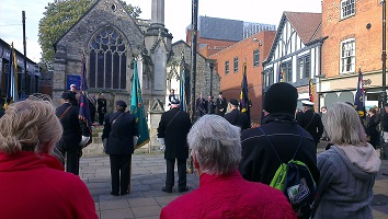 11 November 2014,  St Benedict's Church, Lincoln.