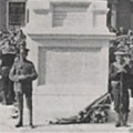 Unveiling the War memorial, Boston.