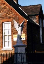 The Crosby Angel - War Memorial, Crosby, Scunthorpe.
