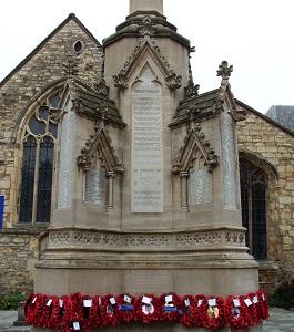 War Memorial, Lincoln.  8 November 2008.