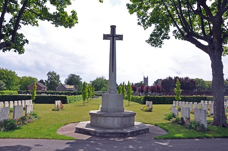 War Memorial, Newport Cemetery, Lincoln.