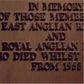 Royal Anglian Memorial, Royal Anglian Regimental Collection, Imperial War Museum, Duxford.